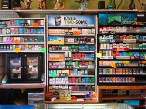 Our huge selection of cigarettes