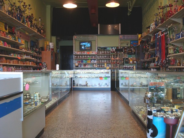 View down the center of our store